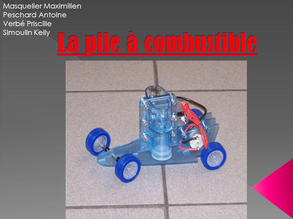 La pile à combustible Masquelier Maximilien Peschard Antoine