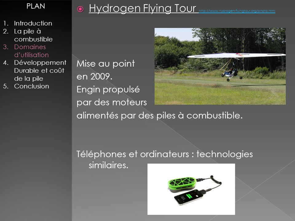 Hydrogen Flying Tour