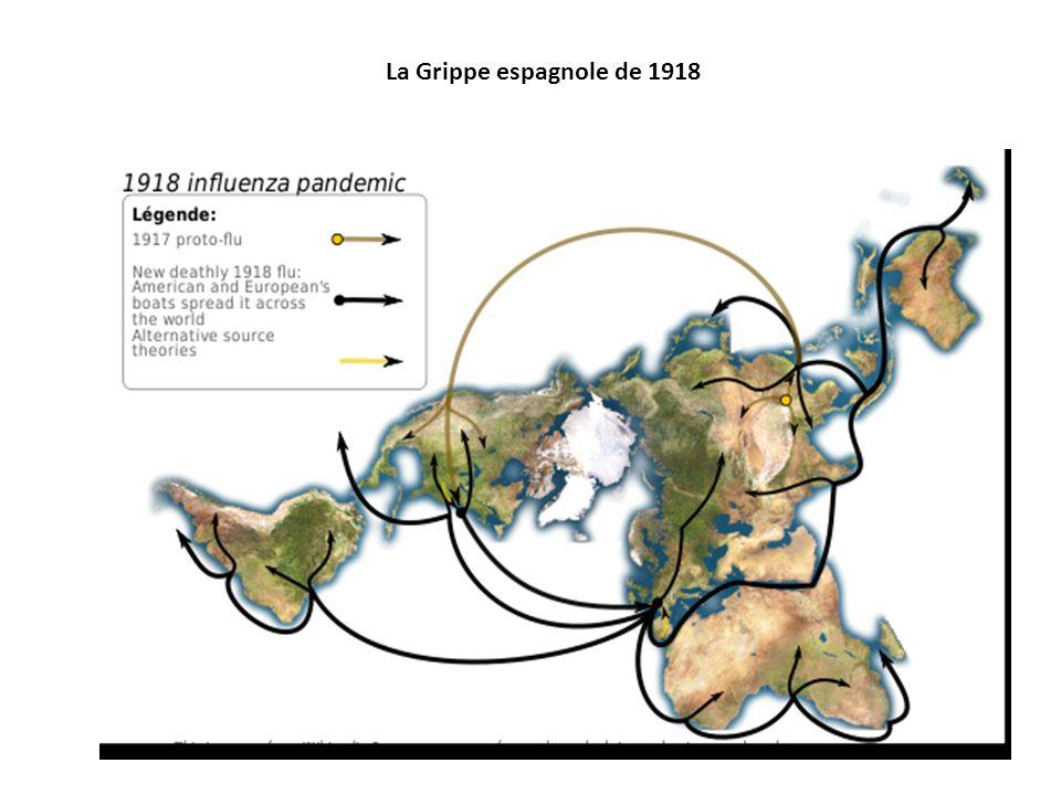 La Grippe espagnole de 1918