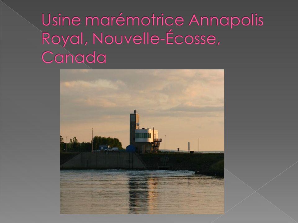 Usine marémotrice Annapolis Royal, Nouvelle-Écosse, Canada