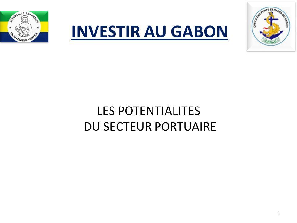 INVESTIR AU GABON LES POTENTIALITES DU SECTEUR PORTUAIRE