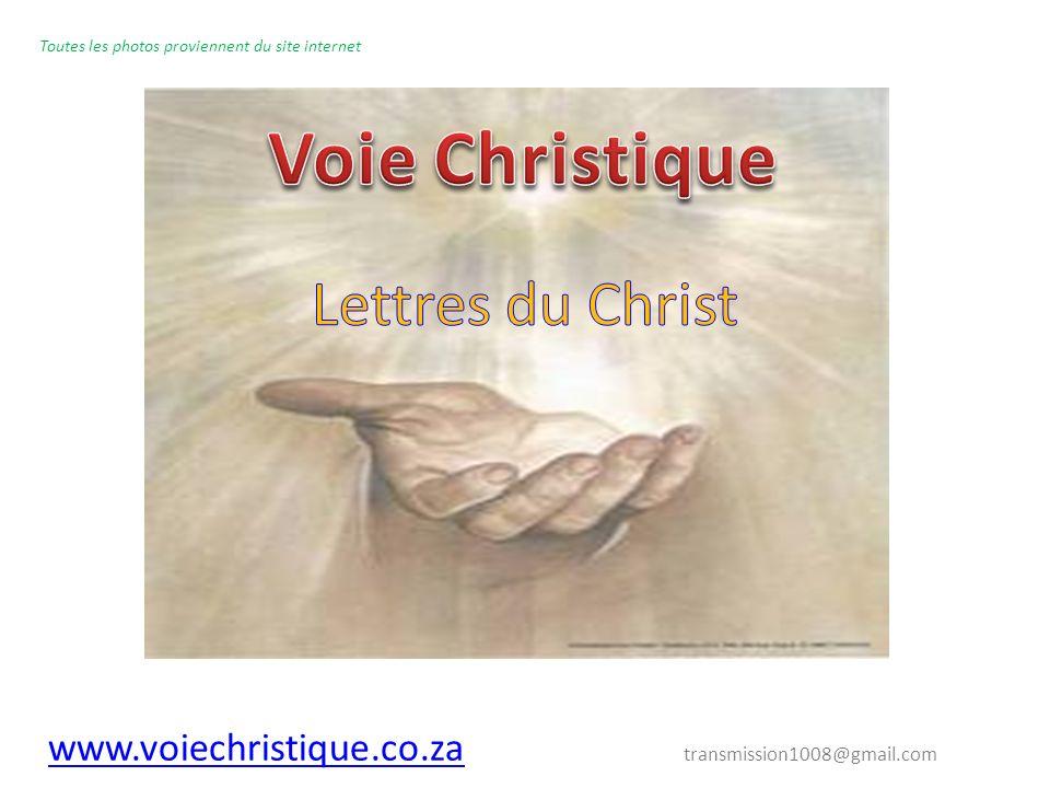 Voie Christique Lettres du Christ