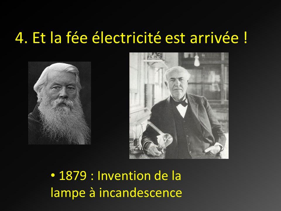 4. Et la fée électricité est arrivée !