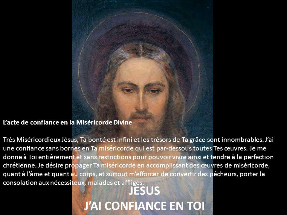 JESUS J'AI CONFIANCE EN TOI