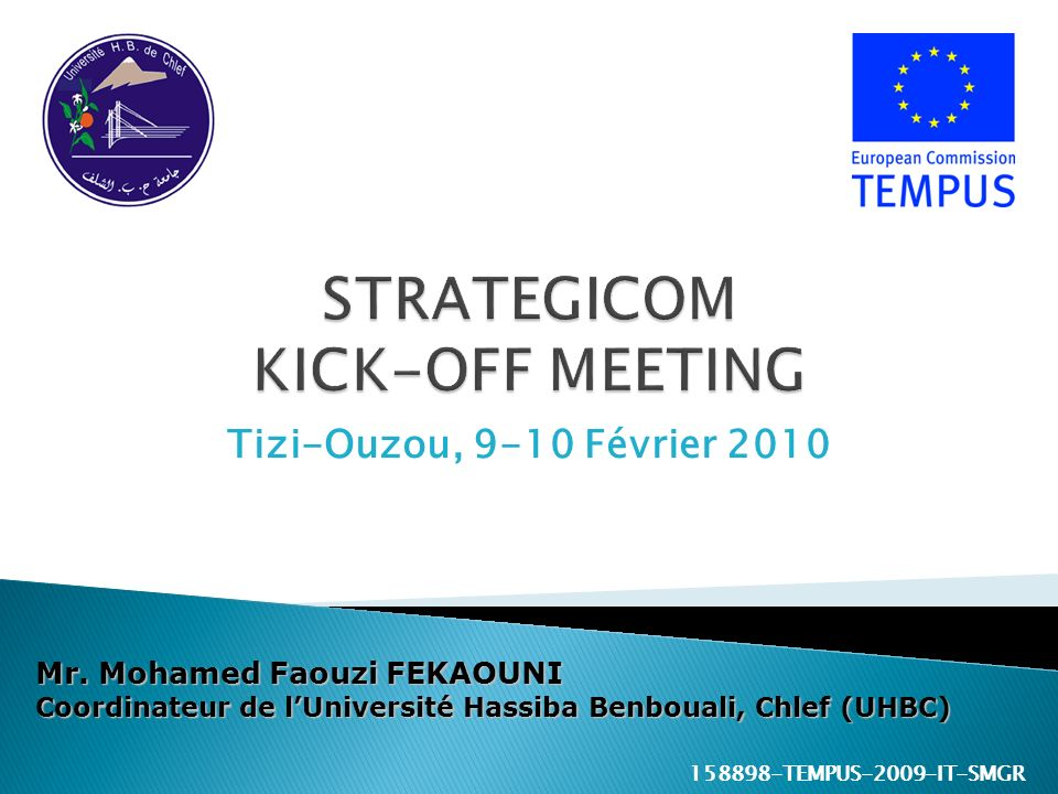 STRATEGICOM KICK-OFF MEETING