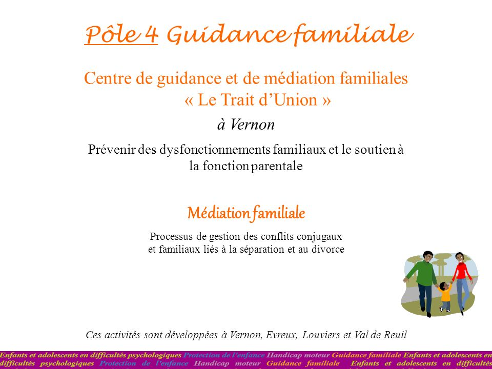 Pôle 4 Guidance familiale