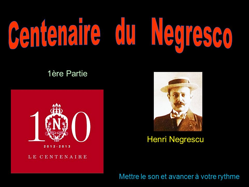 Centenaire du Negresco