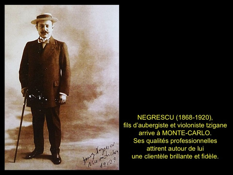 En 1893, le jeune roumain Henri