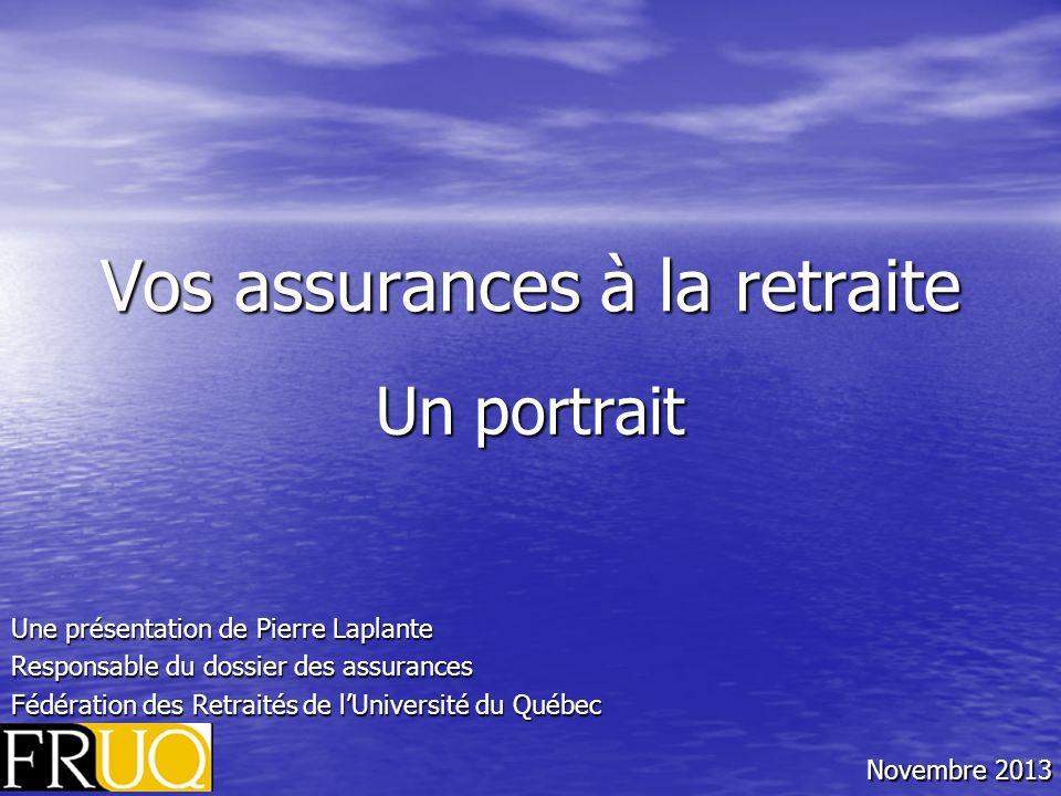 Vos assurances à la retraite