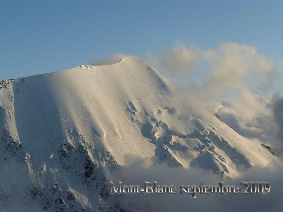 Mont-Blanc septembre 2009