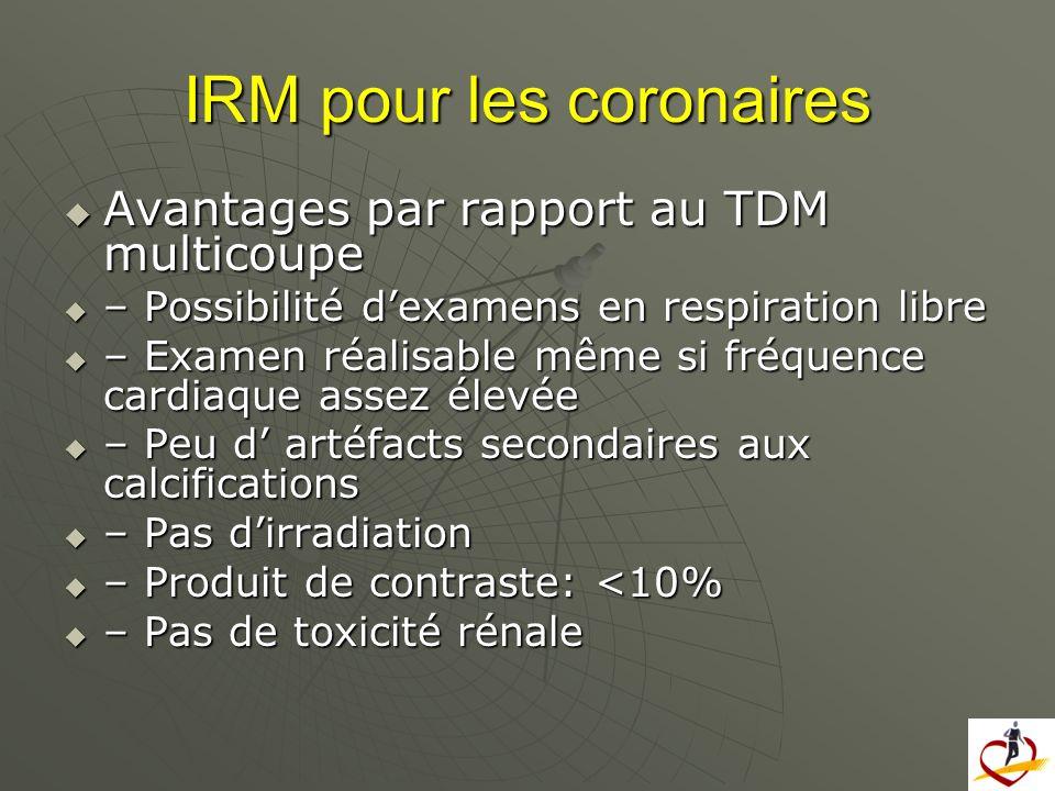 IRM pour les coronaires