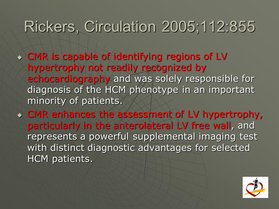 Rickers, Circulation 2005;112:855