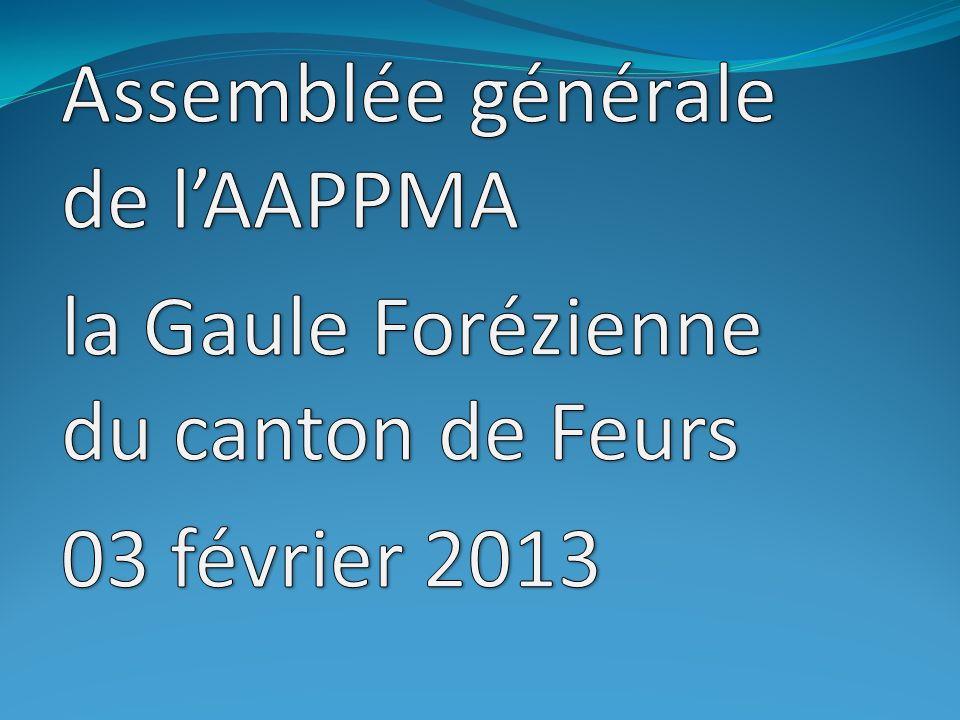 Assemblée générale de l'AAPPMA