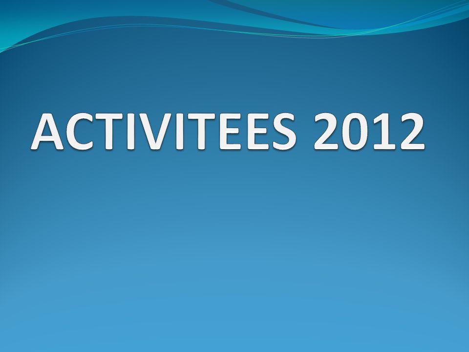 ACTIVITEES 2012
