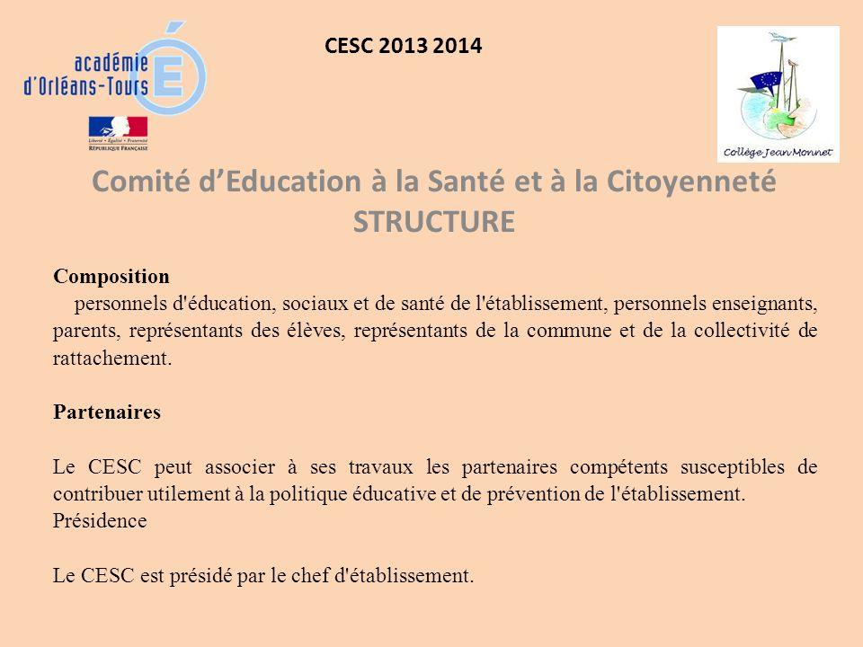 Comité d'Education à la Santé et à la Citoyenneté