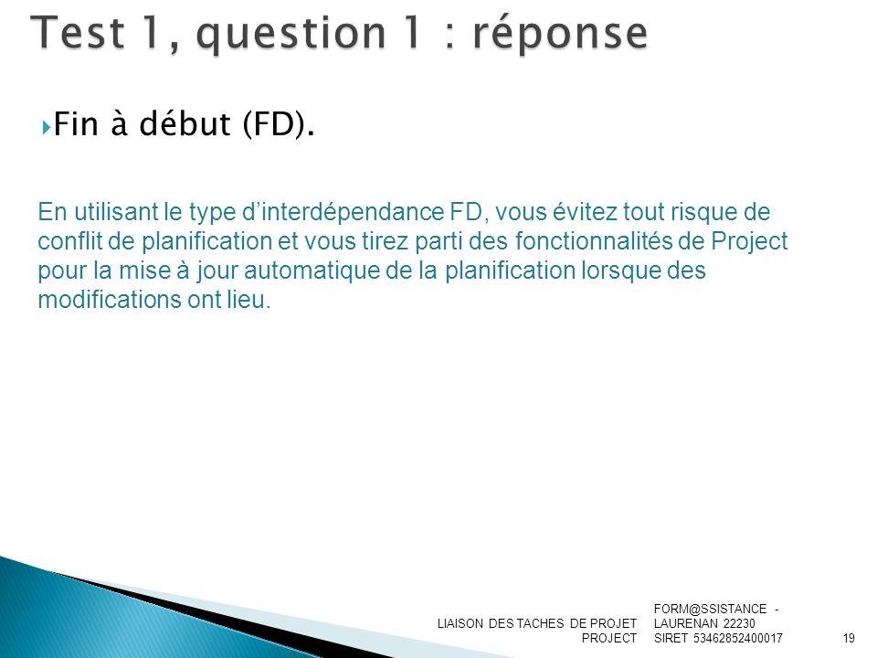 Test 1, question 1 : réponse