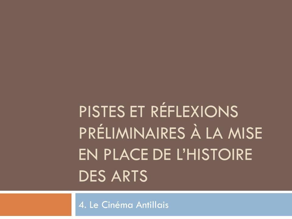 Pistes et réflexions préliminaires à la mise en place de l'Histoire des arts