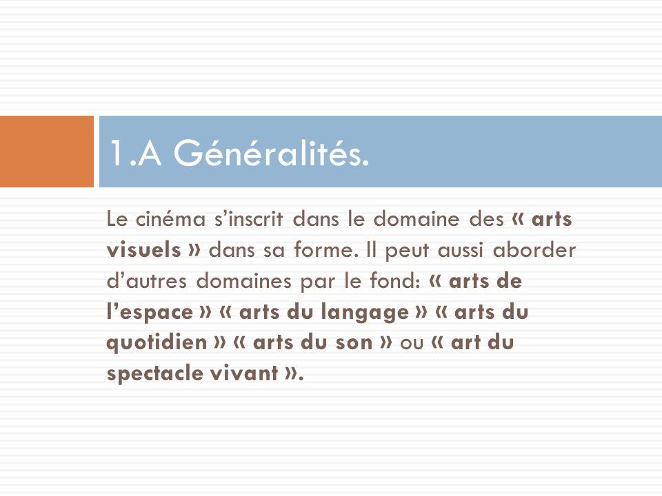 1.A Généralités.