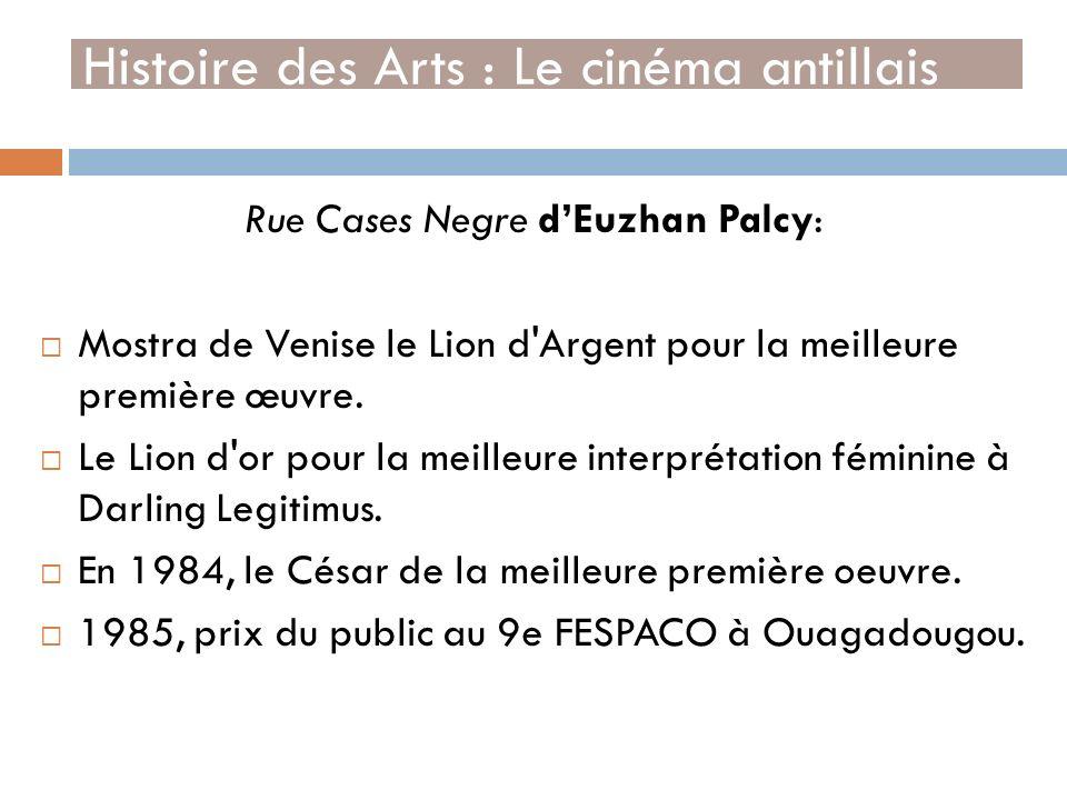 Histoire des Arts : Le cinéma antillais