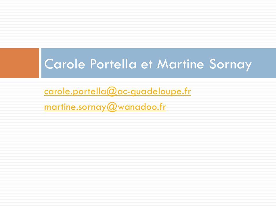 Carole Portella et Martine Sornay