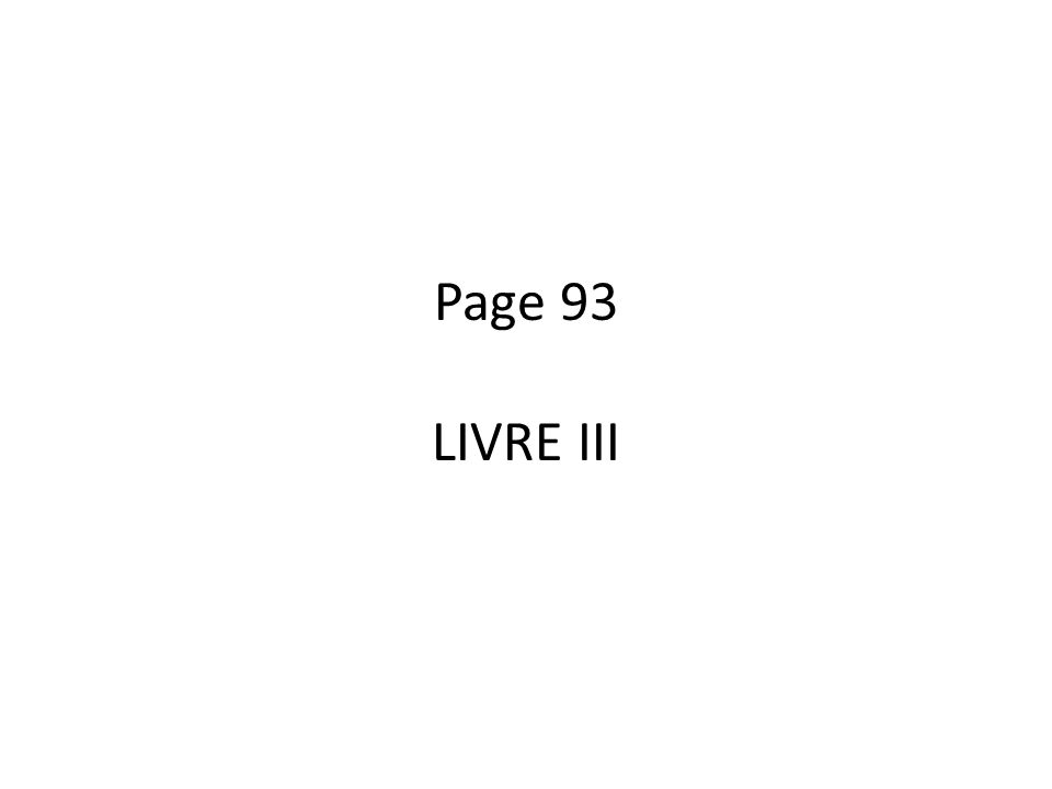 Page 93 LIVRE III