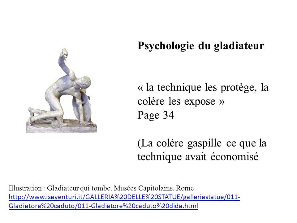 Psychologie du gladiateur