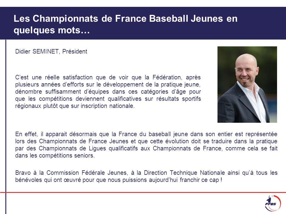 Les Championnats de France Baseball Jeunes en quelques mots…