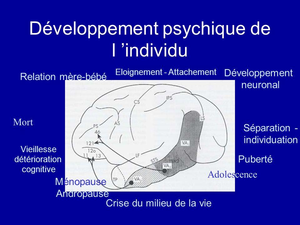 Développement psychique de l 'individu