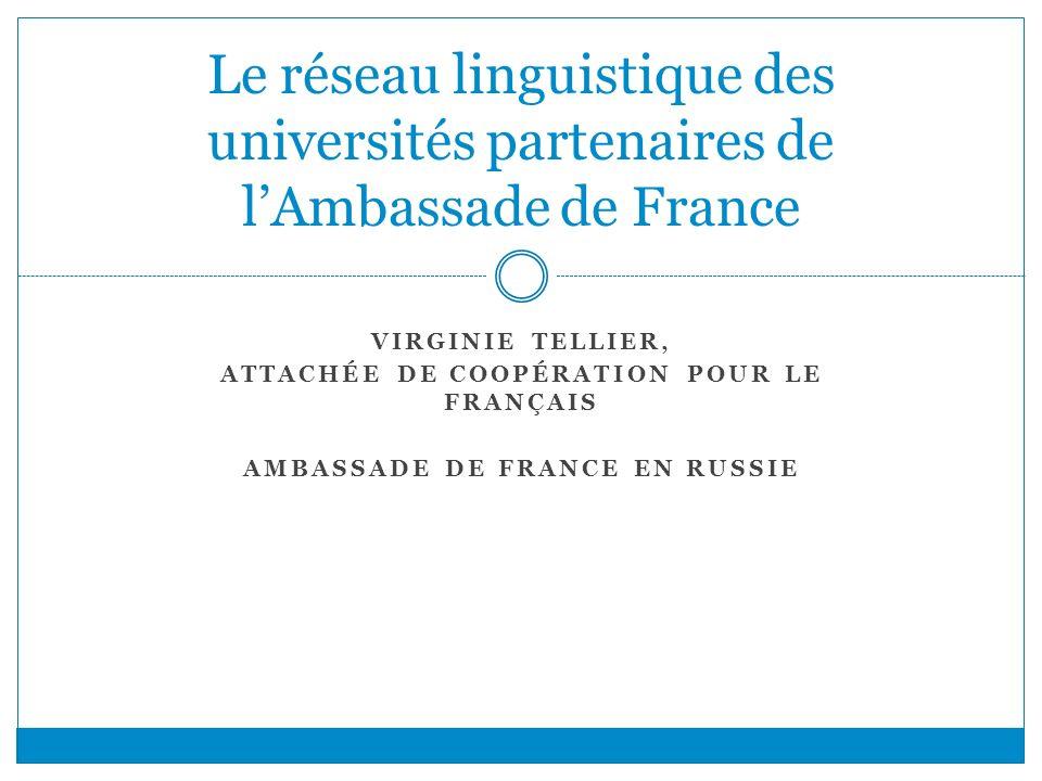 Attachée de coopération pour le français Ambassade de France en Russie