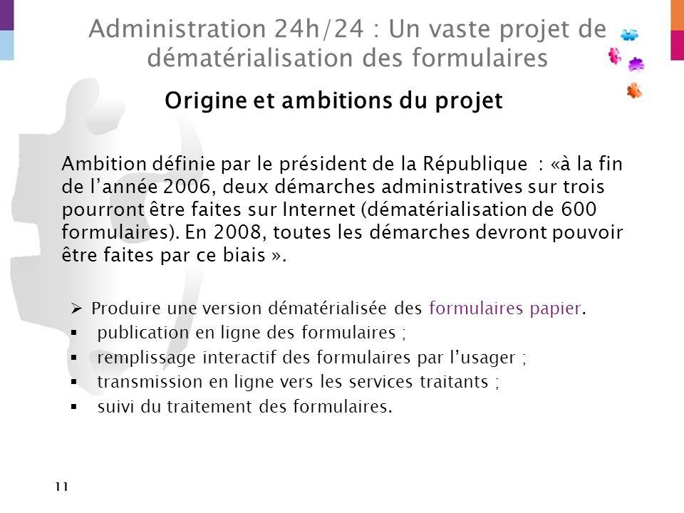 Origine et ambitions du projet