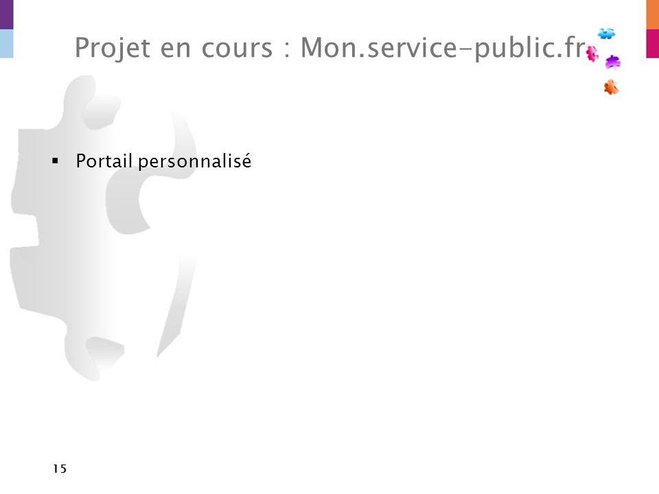 Projet en cours : Mon.service-public.fr