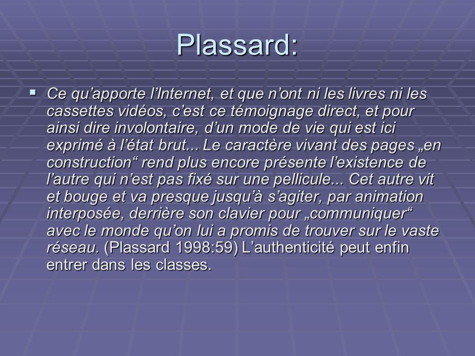 Plassard: