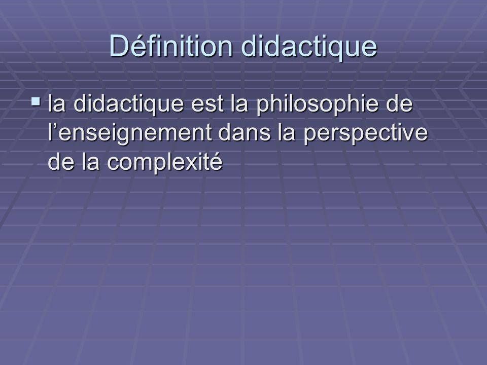 Définition didactique