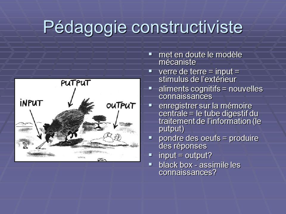 Pédagogie constructiviste