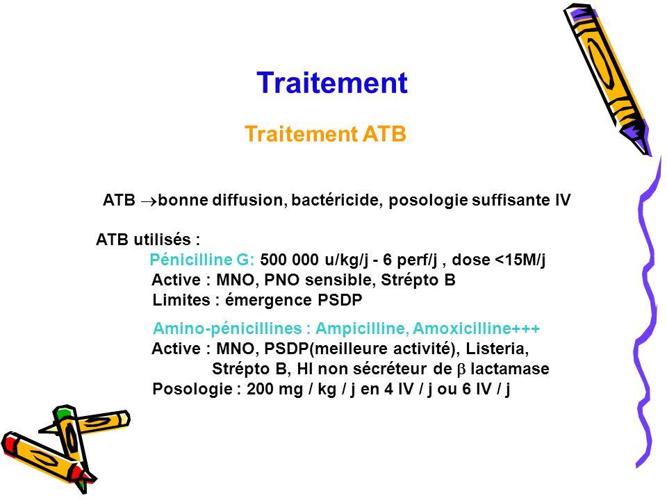 Traitement Traitement ATB