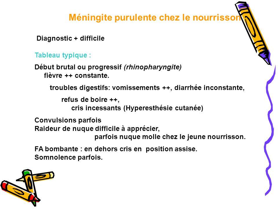 Méningite purulente chez le nourrisson