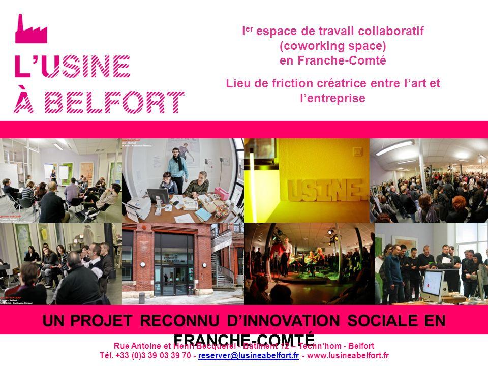 Un projet reconnu d'Innovation sociale en Franche-Comté