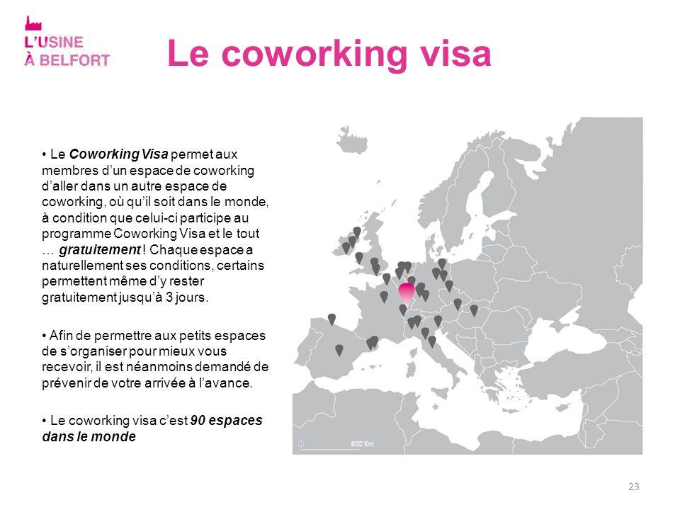 Le coworking visa