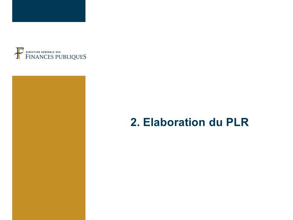 30/03/2017 2. Elaboration du PLR