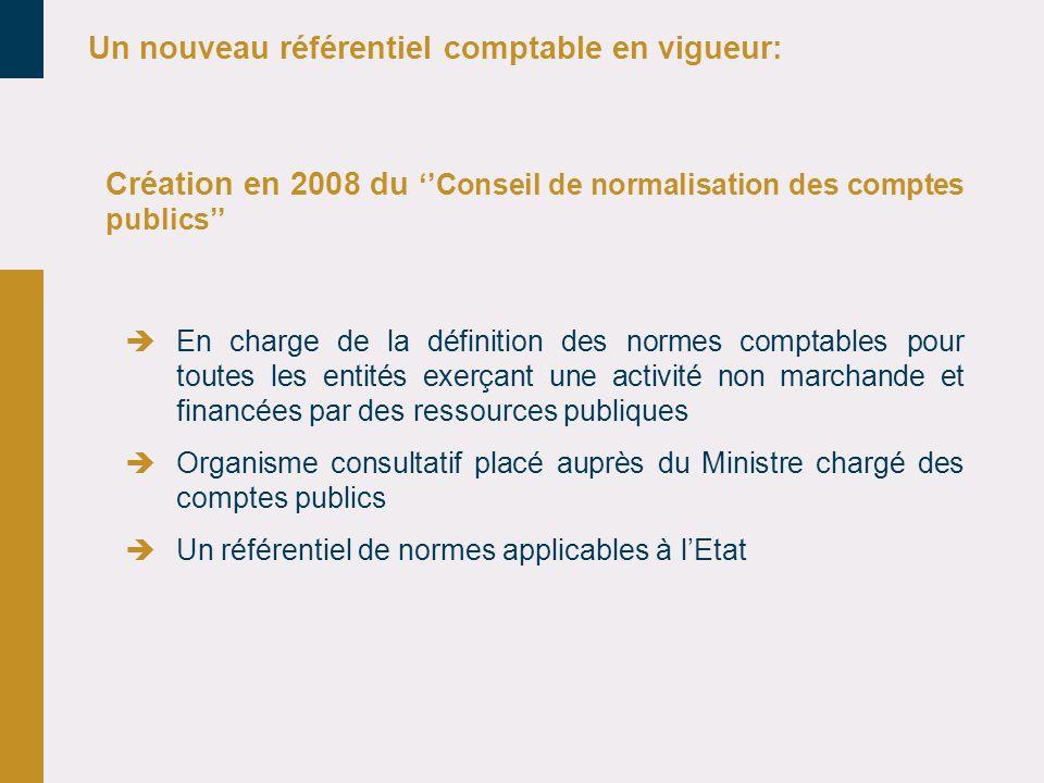 Un nouveau référentiel comptable en vigueur: