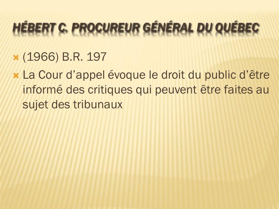 Hébert c. Procureur général du Québec