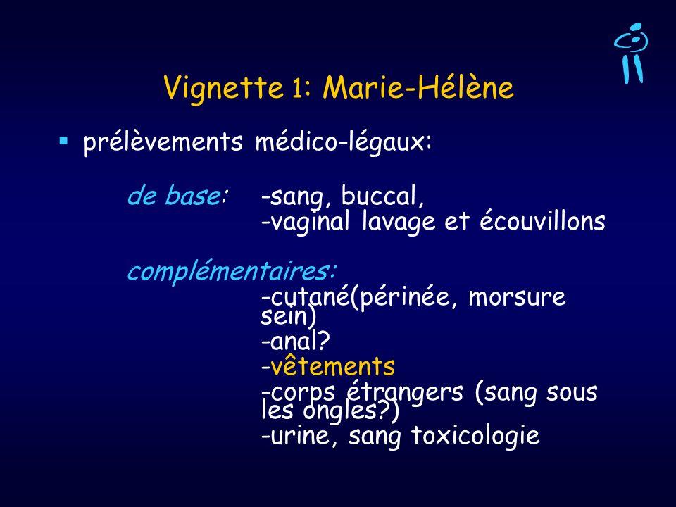 Vignette 1: Marie-Hélène