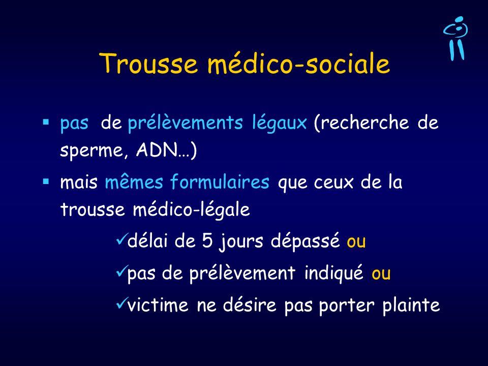 Trousse médico-sociale