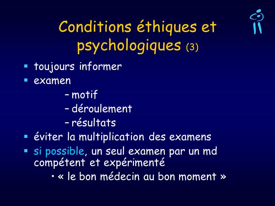 Conditions éthiques et psychologiques (3)
