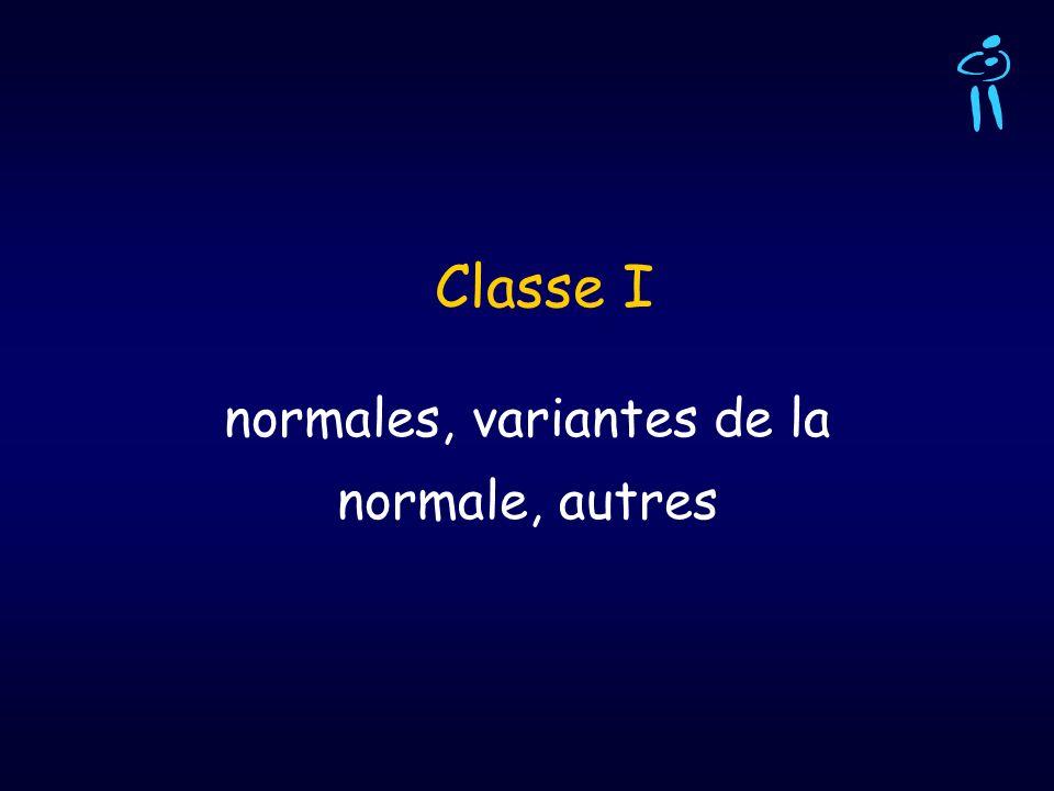 normales, variantes de la normale, autres