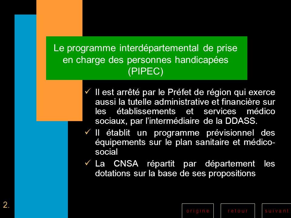 Le programme interdépartemental de prise en charge des personnes handicapées (PIPEC)