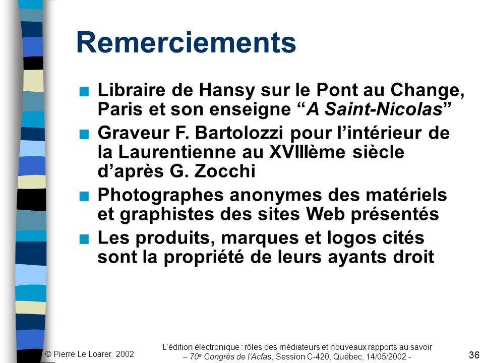 Remerciements Libraire de Hansy sur le Pont au Change, Paris et son enseigne A Saint-Nicolas