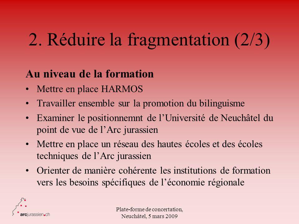 2. Réduire la fragmentation (2/3)