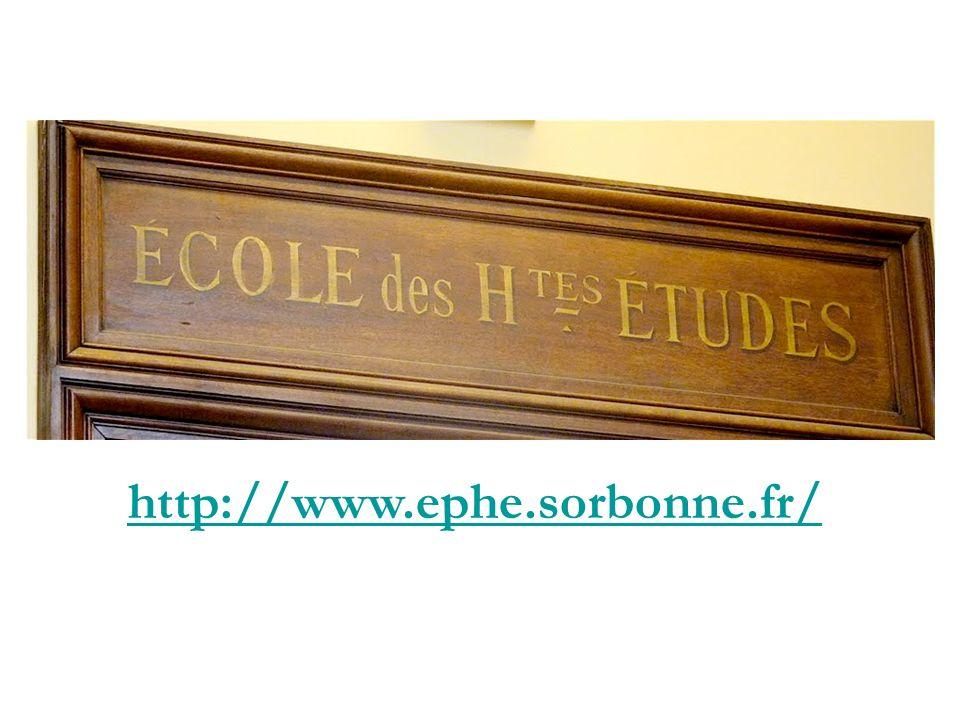 http://www.ephe.sorbonne.fr/