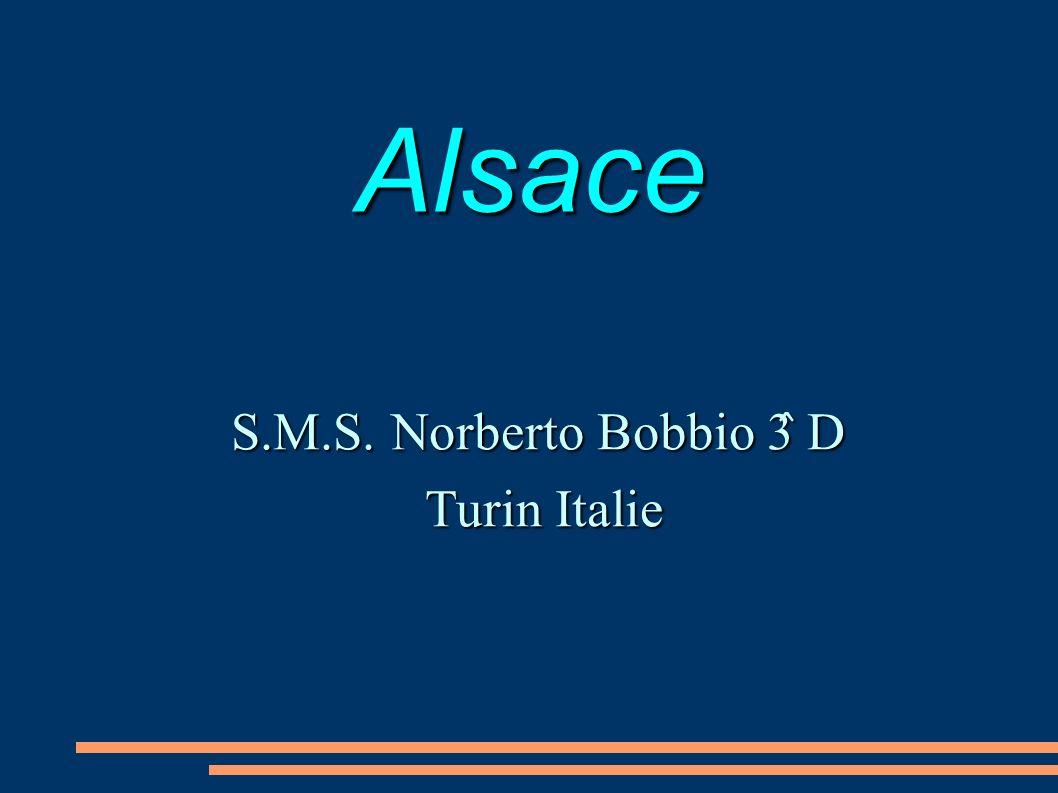 Alsace S.M.S. Norberto Bobbio 3̂ D Turin Italie